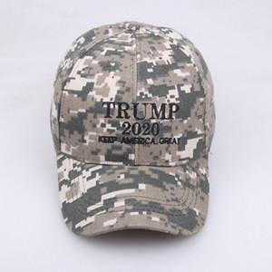 Camouflage Trump 2020 Snapback Hat Make America Great Again Snapback Cap Embroidery Baseball Cap Adjustable Sport Ball Caps Gift VT0541