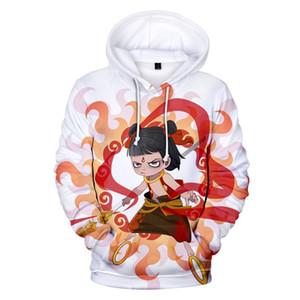 Moda Yeni Sıcak Baskı NE ZHA 3D Hoodies Erkek Kadın Tişörtü Rahat Hoodie 3D NE ZHA Hoodies erkek kız Boy Kazaklar üst Ypf349