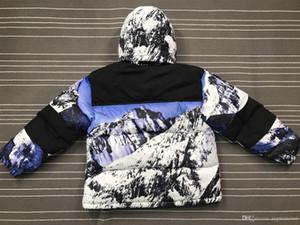 Бренд 17FW пуховики mountain baltoro ветрозащитная толстая верхняя одежда осень зима вид на горы куртка зимнее пальто