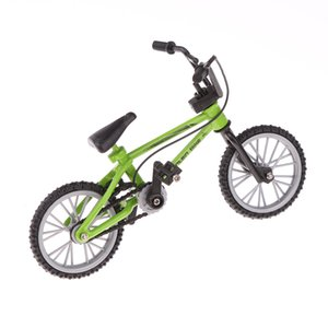 Finger Mountain Bike BMX Fixie Fahrrad-kreatives Spielzeug Gift- Grün