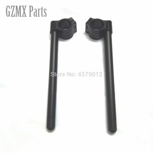 "7/8"" Motorcycle Aluminum CNC Clip-on Fork Tube Clip On Racing Handlebar 35MM 36MM 37MM 39MM 45MM 48MM 50MM 51MM 52MM 53MM 54MM"