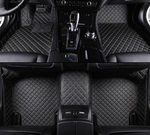 Auto Tappetini per Porsche Cayman Macan Panamera Cayenne Boxster 718 911 accessori auto styling tappetini