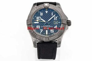 TW Fabrik AVENGER Herren Armbanduhr Titanium Geschäfts Uhr Luminous Armbanduhr-Saphir-Wasserdichte automatische mechanische massive Gehäuseboden
