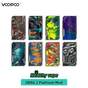 original VOOPOO Drag 2 Platinum 177W mod Dual 18650 Batterien vape box mods vs voopoo alpha zip