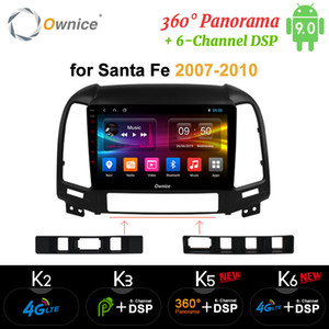 Ownice Octa Core Android 9.0 2 din Car DVD Radio k3 k5 k6 for Hyundai Santa Fe 3 IX25 Creat IX45 4G LTE