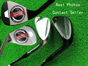 EMS/DHL The Latest Model Golf Clubs Milled G2 Golf Wedges Silver / Black 50 52 54 56 58 60 Lightop Available Real Photos Contact Squer
