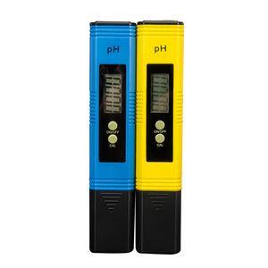 Tester Doğruluk Protable LCD Dijital PH Metre Kalem 0,01 Akvaryum Havuz Suyu Şarap İdrar Otomatik Kalibrasyon Ölçüm DHL