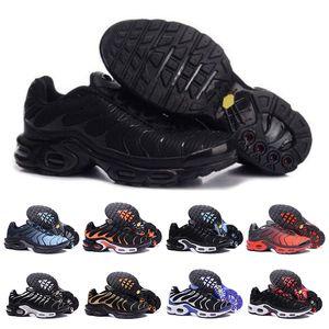 Nike AIR TN Mode Hommes Mercurial Plus TN Chaussures de haute qualité Chaussures Air Tn Ultra SE Noir Blanc Basket Requin Hommes Sneakers