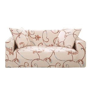 Elegant Print Stretch Tight Wrap Slipcovers All-Inclusive Thin Sofa Cover
