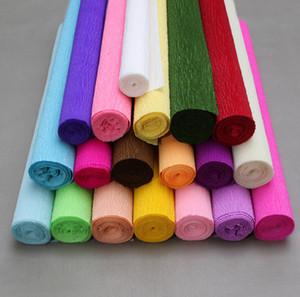 Rotolo di carta grinza carta impastata a mano per la decorazione di materiale fai da te Carta da regalo avvolgente Craft 250 * 50cm