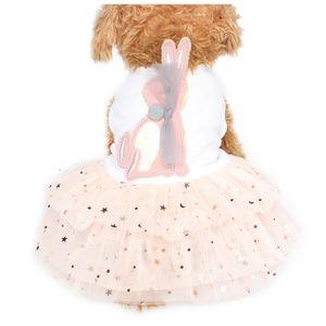 Summer Button Decoration Dog Dresses Vest Sling Dress For Dogs 6071088 Pet Clothing XS S M L XL