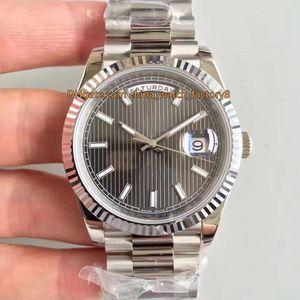 4 стиль лучшее качество EW Maker V2 41 мм день-дата президент 228239 228349 228349RBR швейцарский CAL.3255 Движение Автоматические Мужские Часы Часы