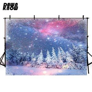Счастливого Рождества виниловые фотографии фон фоны для детей снег живописный фотоколл фон для семейной фотостудии настроить G969