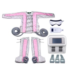 New pink color 3 in1 Far infrared lymphatic drainage ems electro stimulation Weight Loss Pressotherapy Machine