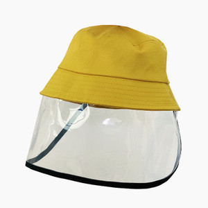Kinder Anti-Nebel-Hut Frühling dünne Anti-Speichel Fischer Hüte Cotton Baby Hat Child Protective Basin Hat EEA1316-2