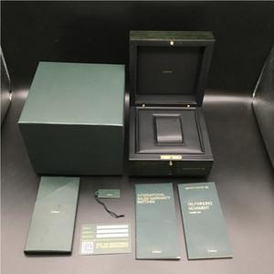 Печать на заказ карты Модель Серийный номер Correct документы Оригинал Зеленый Вуди Watch Box для AP Коробки Буклеты часы