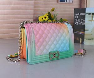 سلسلة الساخن بيع كلاسيكي المرأة حقائب الكتف جديد حقائب محافظ المرأة حقيبة جلدية السيدات مصغرة حقيبة