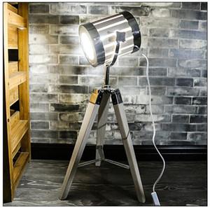 2019 값 유럽 단단한 나무 테이블 램프 침실 창의적인 독서 램프 데스크 따뜻한 로맨틱 간단한 현대 인 스타일 L89
