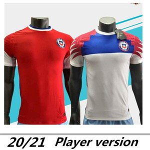 20 21 Player version Chile Soccer Jerseys nation team 2020 Men home #7 ALEXIS #8 VIDAL away Soccer Shirts 2020 football uniforms