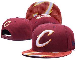 shippping libre de 2020 del SnapBack Cleveland CAVS vestuario Sombrero Oficial hombres ajustables gorra de béisbol de las mujeres