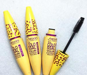 3color jaune bleu violet Mascara Cils Waterproof Volume maquillage express Colossal Mascara pour les yeux cosmétiques Maquillage