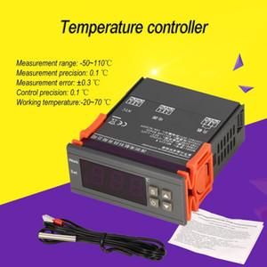 MH1210W AC90-250V Thermostat numérique de température Régulateur contrôleur -50 ~ 110 C Refroidissement Chauffage NTC Capteur de