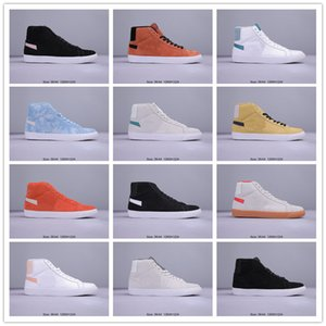 Sb Zoom Blazers Mid tênis para Homens Mulheres Triplo Branco Preto Dunk Top Quality Chaussures Designer Casual Sports Shoes Sneakers 36-44