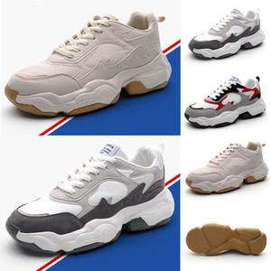 Drop shipping brun blanc rouge noir coupe-bas Brown Hommes Casual chaussures vieilles chaussures confortables papa femmes hommes chaussures de sport de chaussures 39-44
