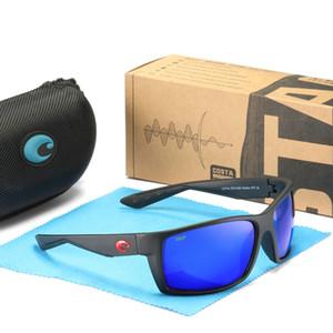 Sonnenbrille Mens Costa Sonnenbrille Reefton 580P UV-Schutz polarisierten Surf / Angeln Gläser Frauen Luxus-Designer-Sonnenbrille BoxCase