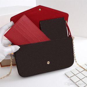 Newest LUXURY Bags Fashion women Designer Shoulder bags High quality brand bag Size 21 11 2 cm Model 61276256