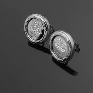 Design clássico de alta qualidade Ouro Prata Rosa colore Mulheres jóias de aço inoxidável extravagante Ear Studs amantes brincos atacado