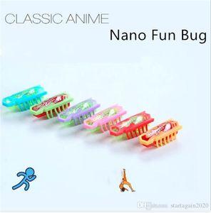 Yaratık Nano Bug Elektronik Kedi Köpek Yavru Köpek Evcil Oyuncak Robotik Böcek İçin Çocuk Pratik Şakalar Oyuncaklar Şaşırtıcı Böcek Oyuncak Malzemeleri