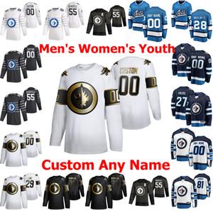 2020 Winnipeg Jets All-Star Jerseys 20 Cody Eakin Jersey 12 Dylan DeMelo Patrik Laine Neal Pionk Mark Scheifele Hockey camisas personalizadas do ponto