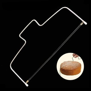 Adjustable Double Wires Cutter Stainless Steel Slicer Leveler Pastry Cake Cookie Cutter Kitchen Tools Accessories