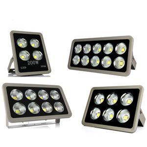 Led Projektör 85-265V 200W 300W 400W 500W Açık COB LED Projektör lamba su geçirmez Tünel ışıkları sokak aydınlatma led