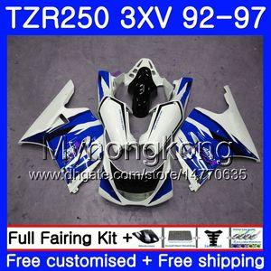 Kit per YAMAHA TZR250RR RS TZR250 92 93 94 95 96 97 245HM.47 TZR 250 3XV YPVS TZR 250 1992 1993 1994 1995 1996 1997 blue hot frame Fairing