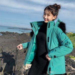 Fur Coat Casual Ladies Long Sleeve Solid Color Parka Women Outerwear Women Sweet Designer Coat Winter Thick Warm Plue Size