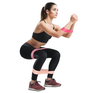 5шт Обучение Фитнес Gum Упражнение Gym Сила сопротивление Группа Пилатес Спорт Резина Фитнес Группа Crossfit тренажеры