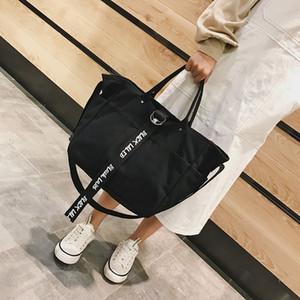 WENYUJH Borse di tela per donna 2019 Borse Laides Shopping Bag Libri di scuola per studenti Big Tote Borsa da viaggio da viaggio Bolsa Feminina