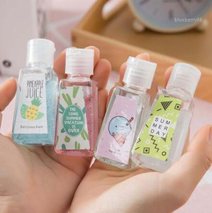30ML Mini Hand Sanitizer 30 ml monouso per sapone liquido lozione Portable Hand Sanitizer No Clean Detergente Cartoon1