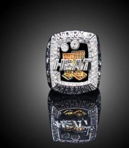 Оптовые новые 2019 Мужская мода спортивная бижутерия 2013 Майами Хитс чемпионат кольцо поклонников сувенирный подарок