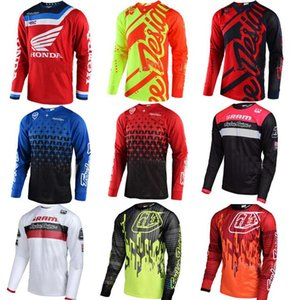2020 New TLD Downhill Bike Cycling Jersey Top Summer Long Sleeve Cross Country Shirt Motorcycle Racing T Shirt personalizado