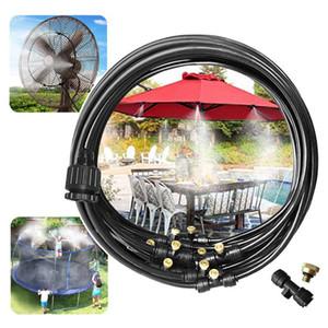 Verano de rociadores de agua Trampolín de rociadores nebulización señores Sistema de refrigeración del jardín al aire libre del patio trasero de juegos de agua de juguete pulverizador JG3