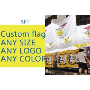 Personalizzato Flag tutto il formato Esposizioni pubblicitarie militare Bandiera / spiaggia Banner Digital Print 100d Poliestere Pongee