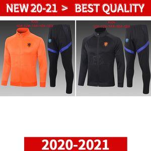 2020 2021 هولندا لكرة القدم لكرة القدم تدريب الاطفال مجموعات لكرة القدم 20 21 طويل الأكمام رياضية كرة قدم جرسي عارضة الملابس الرياضية