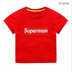 New Summer Children Short sleeves T-shirt Boys Tops Solid Color Tees Kids t Shirt Girls Clothing T1102