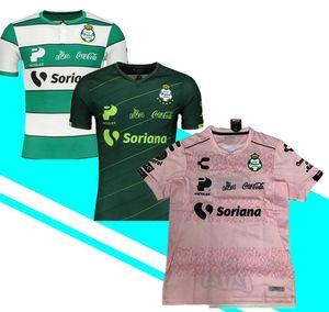 2019 2020 Santos Laguna camisa de futebol 19 20 lar longe 3ª Santos Camisetas México Liga jerseys camisas de futebol Furch Jorge Djaniny Tavares Semedo Sánchez à venda