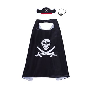 Double Layer Suerhero Cape and Mask 27in Birthday Party Children Favor Cosplay Costumes Halloween Christmas Gifts for Kids
