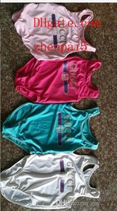 In meistverkauften Bademoden jumpsuits High-End-einteiligen Babydruckbuchstabe Badeanzug Kinder Strand Kleidung 2T-8T A-E5