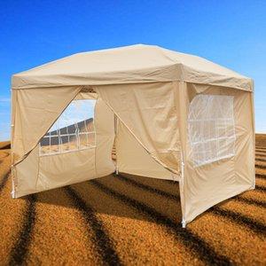 10x10 Ft Pop UP festa di nozze della tenda 3x3m impermeabile pieghevole Gazebo Padiglione Cater Canopy con 2 finestre e 2 porte di trasporto